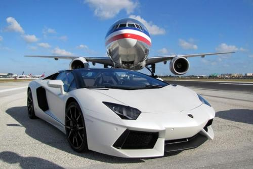 Lamborghini Aventador LP 700 4 Roadster Invade Miami El